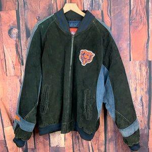 Chicago Bears NFL Vintage Jacket Leather